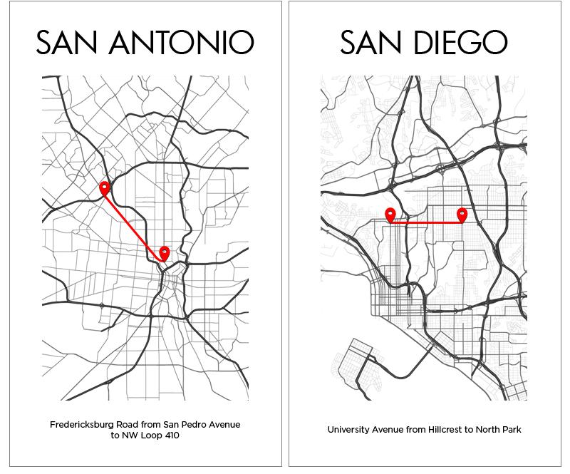 San Antonio San Diego