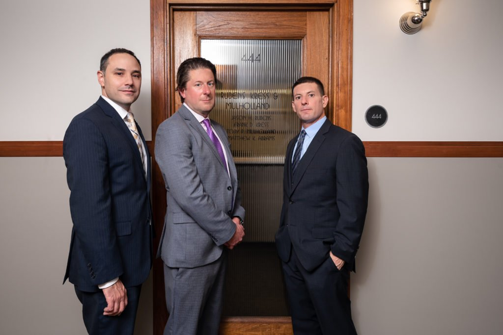 Jason Rubens, Frank Kress, and Toby Mulholland - personal injury attorneys
