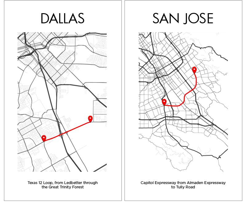 Dallas San Jose