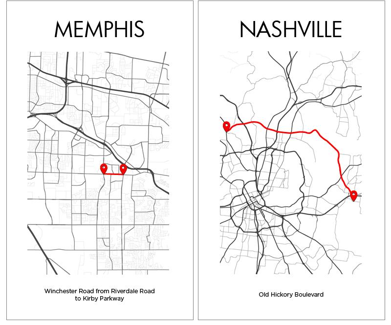Memphis Nashville