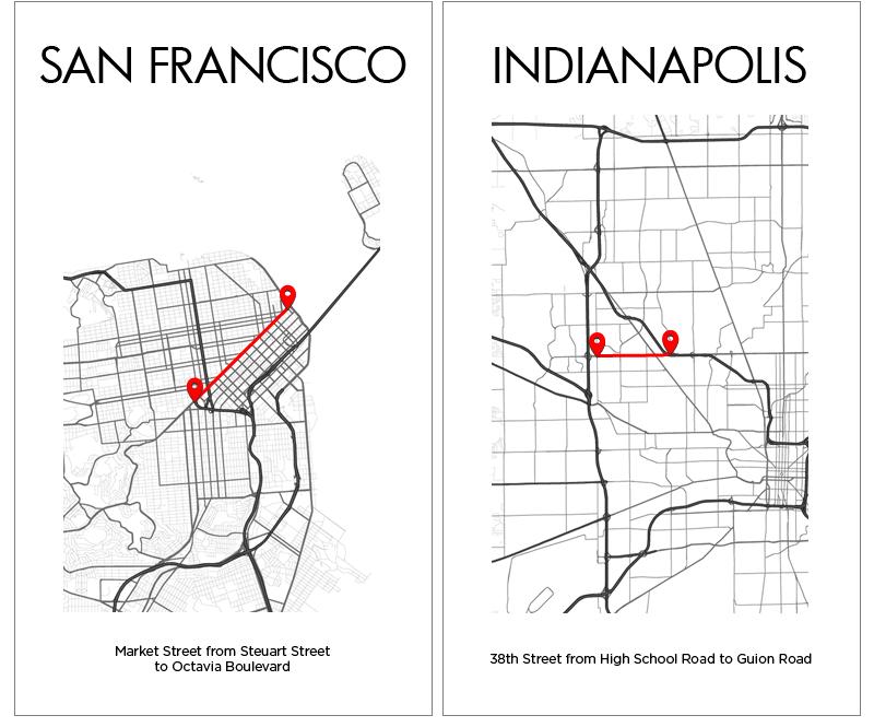 San Francisco Indianapolis