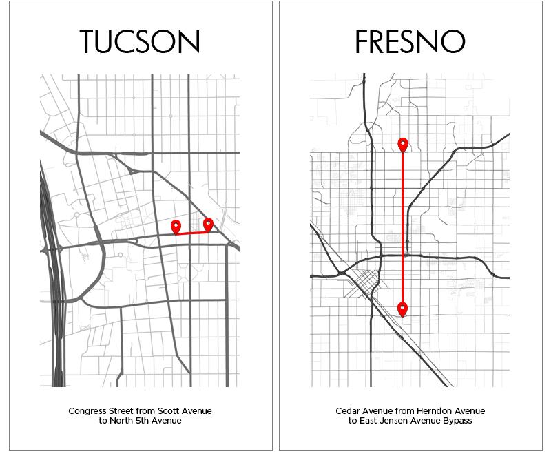 Tucson Fresno